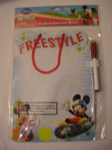 Disney Mickey Mouse Clubhouse Dry Erase Board & Marker