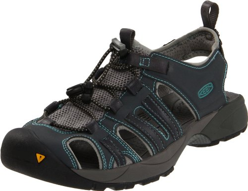 Keen Women'S Turia Water Shoe,Dark Shadow/Sea Blue,8 M Us front-964567