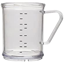 Carlisle 431507 Clear 9-3/5 Oz. Measuring Cup (Case of 6)