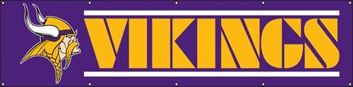 NFL Minnesota Vikings 8 Foot Banner