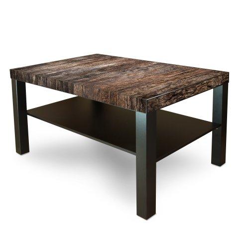 kerik gesch ft gro er tisch couchtisch beistelltisch mit ablage mit motiv altes holz big sale. Black Bedroom Furniture Sets. Home Design Ideas
