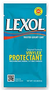 Lexol 1217-100pk Vinylex Protectant Quick Wipe Towelette, (Pack of 100)