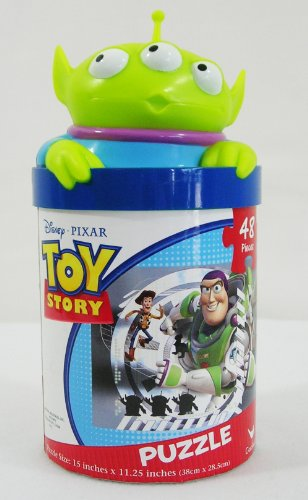 Disney Pixar Toy Story 48 Piece Puzzle in a Jar