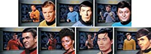 Star Trek TOS Heroes & Villains Shadowbox Complete 7 Card Chase Set
