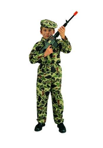 [RG Costumes 90066-L Commando Boy Costume - Size Child-Large] (Law Enforcement Child Costume)