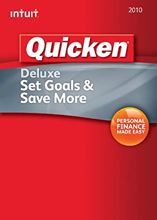 Quicken Deluxe 2010  [Download] [OLD VERSION]