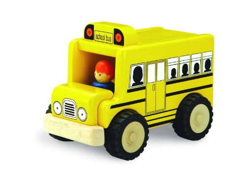 Wonderworld Mini Toy School Bus