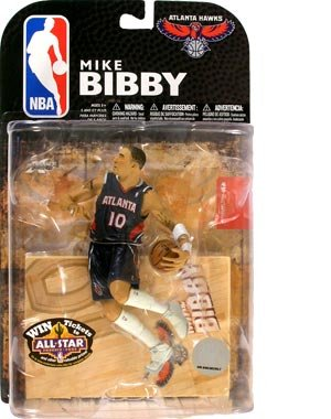 Buy Low Price Lucky Yeh International NBA Series 15:Mike Bibby – Atlanta Hawks Figure (B0013HX8TO)