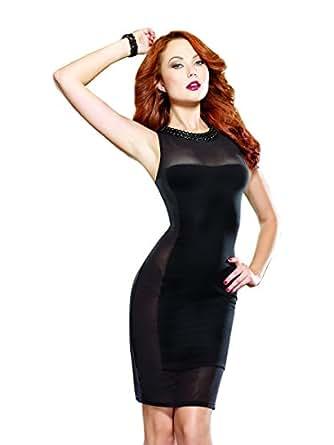 Amazon.com: Dreamgirl Women's Gin and Sin Illusion Club Dress: Health ...