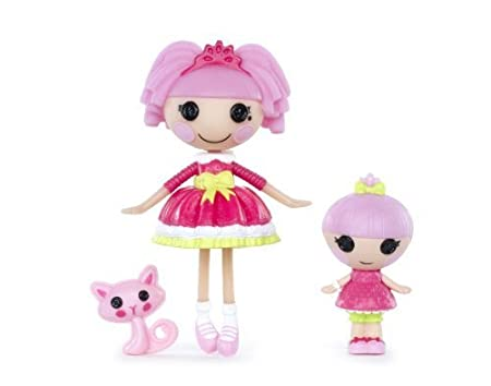 Lalaloopsy Mini Littles Doll, Jewel Sparkles/Trinket Sparkles by Lalaloopsy TOY (English Manual)