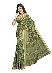 Suhanee Cotton Saree (Suhagan - 1013 _Green)