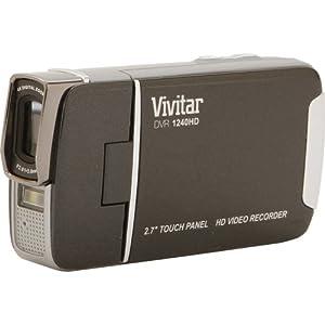 "Vivitar Digital Camcorder 1240hd (2.7"" Full Touch Screen , Full Hd 1080p , Ac Charger , 8x Digital Zoom) from VIVITAR 1240HD ."
