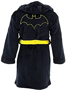 DC Comics Boys' Toddler Batman Hooded Robe at Gotham City Store
