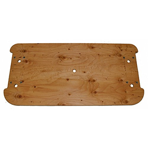 E-Z-Go 76411G01 Plywood Seat Bottom Bench For Gas And Electric