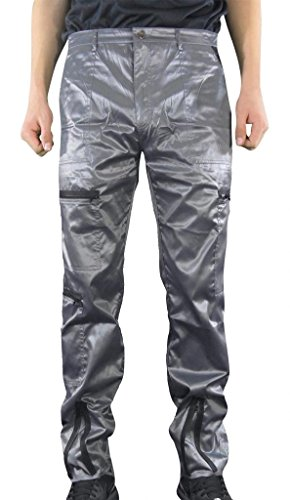 Countdown Shiny Nylon 80s Parachute Pants (Exactly 34