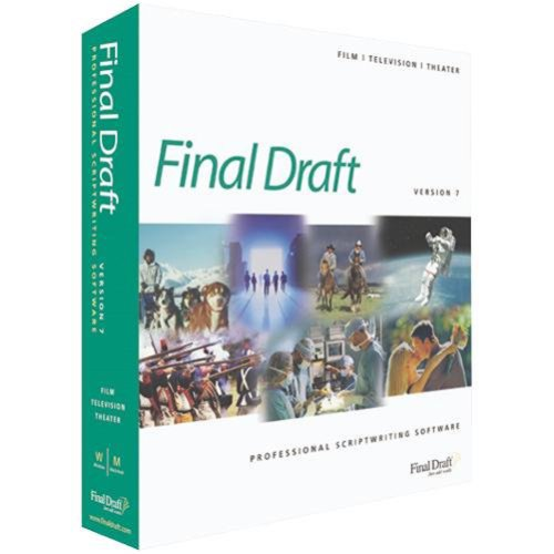Final Draft 7 Professional Scriptwriting [OLD VERSION]