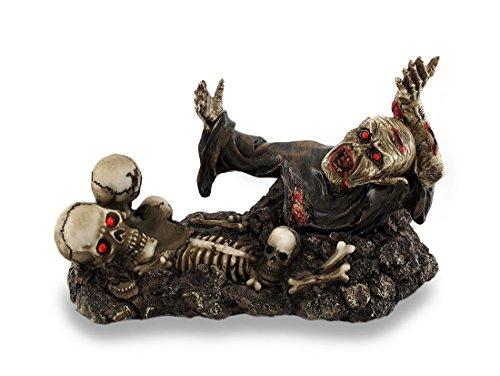 Zombie and Skulls Halloween Wine Bottle Holders