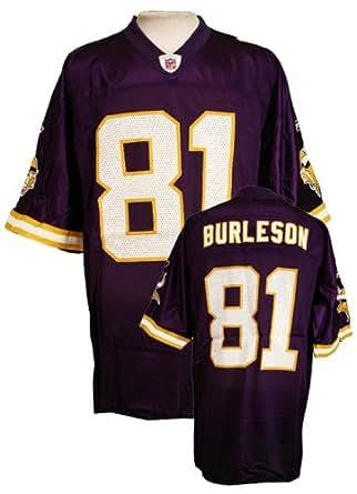 Amazon Com Minnesota Vikings Mens Nfl Football Jersey Nate Burleson