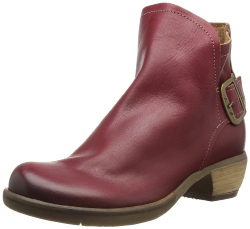 Fly London Womens More Boots P142983003 Red 7 UK, 40 EU