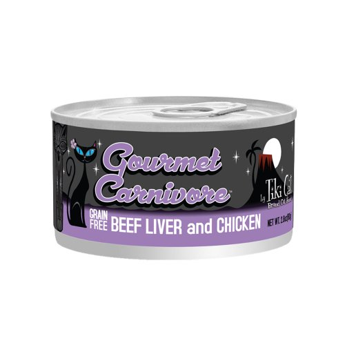 Gourmet Carnivore 2.8Oz Cans-12 Pack Beef Liver And Chicken