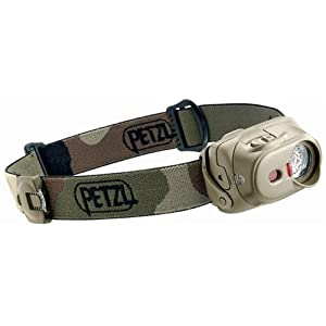 Petzl E89 PC Tactikka XP Headlamp, Camouflage