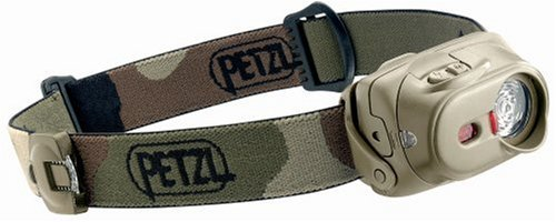 Petzl E89 Pc Tactikka Xp Headlamp, Camouflage front-933904