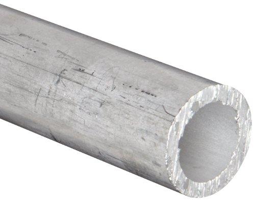Aluminum 6061-T6 Seamless Round Tubing, ASTM B210, 1-1/4