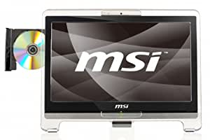MSI AE1921-404XEE 18.5 inch LED Wind Top All-in-One Desktop PC (Intel Atom D525 1.8GHz Processor, 2GB DDR3 RAM, 320GB HDD, Touch Screen, DVD-RW, USB 2.0, 4-in-1 Card Reader, Wi-Fi, SRS Premium Sound)