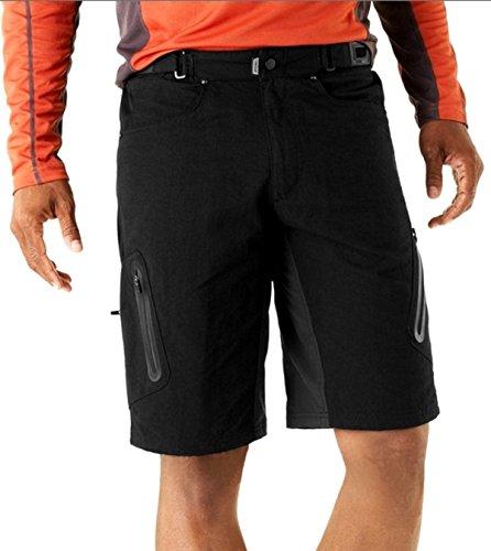 ally-herren-sport-im-freien-kurze-wasserdicht-freizeit-hosen-mtb-kurzschlusse-schwarz-xxl-36-38