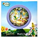 Disney Fairies TinkerBell Wall Clock 8 Inch