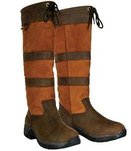 Dublin Ladies Black River Boots 6