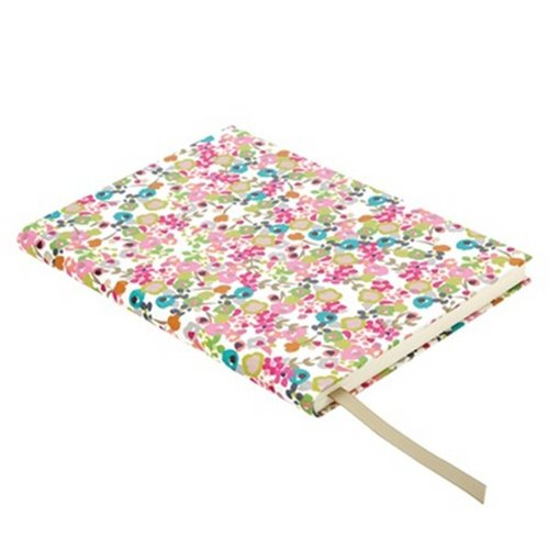 Caroline Gardner Ditsy Flowers  Design Print Casebound Desk Book Notebook