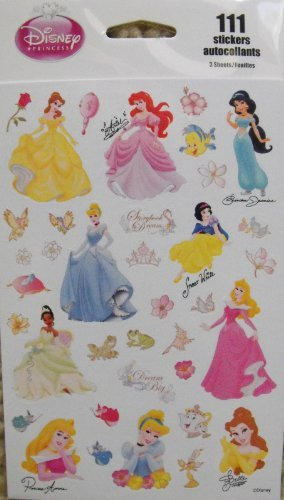 Disney Princess 111 Stickers
