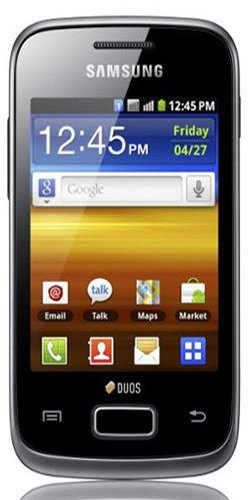 Samsung Galaxy Y Duos S6102 Dual Sim Android Mobile Phone Black Friday & Cyber Monday 2014
