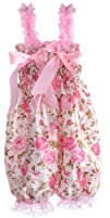 ANDI ROSE Baby Toddlers Floral Printed Ruffle Romper Baby Girl 1-2 yrs Infant Size M (Size: M for…