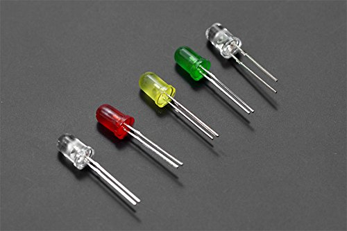 DFRobot 5mm LED Pack (50 pcs) - DIY Maker Open Source BOOOLE