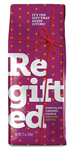 Regifted Ground Coffee Chocolate Caramel Cookie 12Oz