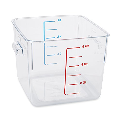 Rubbermaid Commercial Space Saving Food Storage Container