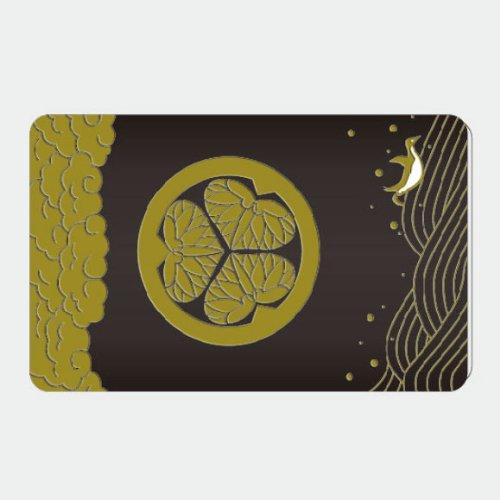 アオトクリエイティブ Fun ic card sticker ICカードステッカー 紋 IC18