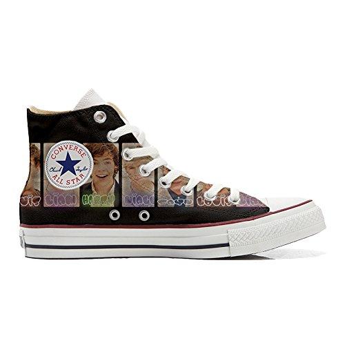 Converse All Star scarpe personalizzate (Prodotto Artigianale) One Direction size 39 EU