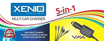 Xenio-5-in-1-Car-Charger