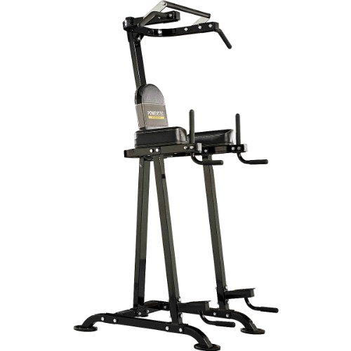 Powertec P-CDV Chin / Dip Vertical Knee Raise Rack System