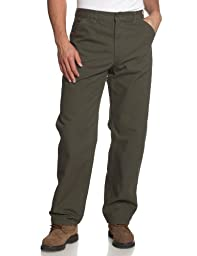 Carhartt Men\'s Washed Duck Work Dungaree Utility Pant B11,Moss,36 x 34