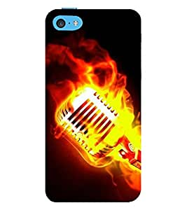 Vizagbeats Burning Mike Back Case Cover for Apple iPhone 5C