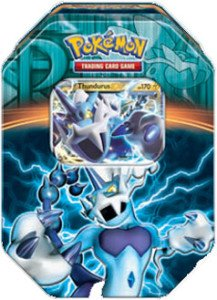 Pokemon Black & White - Fall 2013 Legendary Tin Thundurus-EX