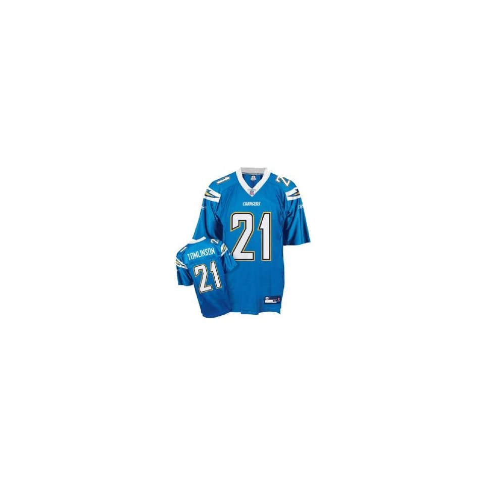 LaDainian Tomlinson #21 San Diego Chargers NFL Replica Player Jersey (Alternate Color) (X Large)