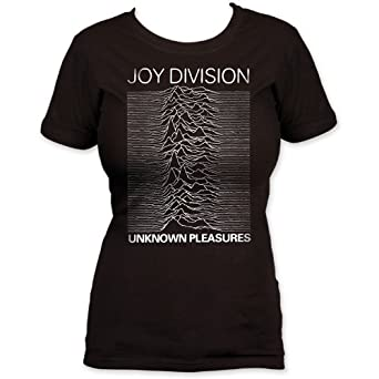 impact juniors joy division unknown pleasures t shirt. Black Bedroom Furniture Sets. Home Design Ideas