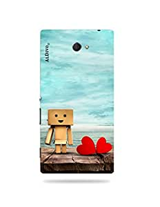 alDivo Premium Quality Printed Mobile Back Cover For Sony Xperia M2 / Sony Xperia M2 Back Case Cover (MKD242)