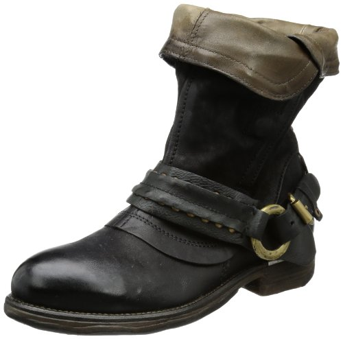 Airstep Women's 723202 Boots Black Schwarz (nero 6002) Size: 6.5 (40 EU)