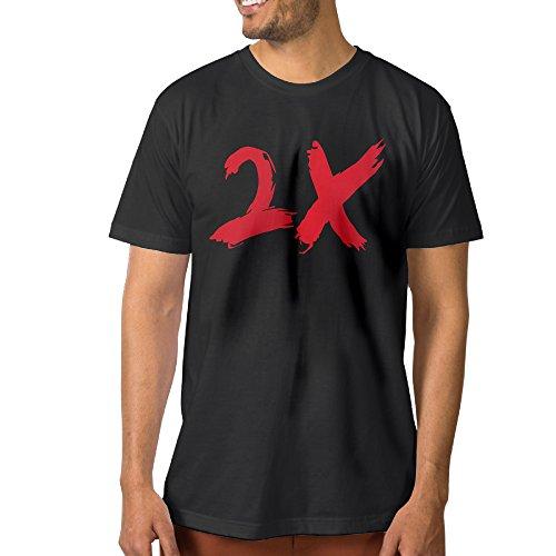 Men OTF Lil Durk Durk 2X Round Neck T Shirts (Lil Durk Otf compare prices)